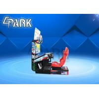 Buy cheap 1 Player Stereo System Indoor Arcade Racing Game Machine from wholesalers
