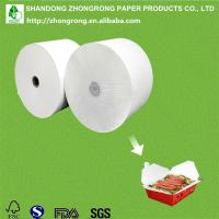 Quality greaseproof PE coated paper for food box for sale