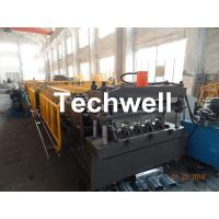 Quality Welding Wall Plate Machine Frame Structural Metal Deck Forming Machine With Chain Transmission for sale