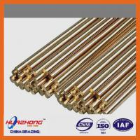 Quality Copper based material brass welding rod,brazing brass rod,wire/ring/strip type,brass filler metal,2kg/package for sale
