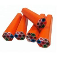 China Damp Proof Mini Fiber Cable Duct , Telecom Duct Pipe Ultraviolet Protection on sale