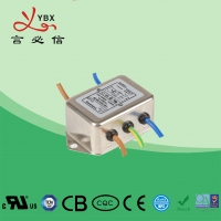 Quality Single Phase DC Line Noise Filter , Refrigerator EMI RFI Power Line Filter for sale