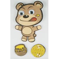China Paper + PET Layered Stickers For boys / little bear Movement Sticker wholesale