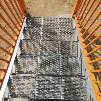 China perforated metal mesh for walkway / perforated metal mesh for antiskid plate on sale
