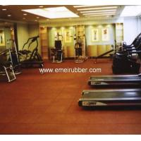 Quality rubber gym floor tiles for sale