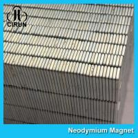 Quality Square Industrial Neodymium Magnets Bar Block N54 Grade High Strength for sale