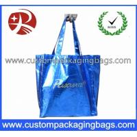 Quality Biodegradable Die Cut Handle Plastic Bags Soft Flex - Loop Carrier With Punch Hole for sale