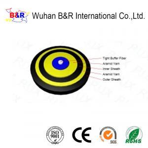Quality Flame Retardant 900um 3.2mm Diameter Digital Fiber Optic Cable for sale