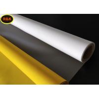 China 150 Micron Polyester Silk Screen Printing Mesh For Good sharpness And High Penetration on sale