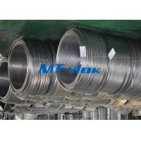 ASTM A269 / ASME SA269 1 / 4 Inch Cold rolled Stainless Steel Coil Pipe With 300 Series Material