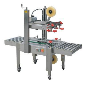 China adhesive tape carton sealer FXJ 6050 semi automatic Carton box sealing machine on sale