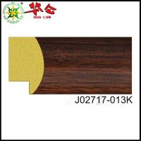 China J02717 series wholesale wood-like ps mirror photo picture frame moulding on sale
