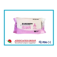 Quality Ultra Mild  Xylitol Extract Baby Wet Wipes Highly Nourishing And Pure for sale