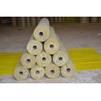 Quality Low Dust Rockwool Pipe Insulation , Mineral Wool Thermal Insulation Pipe for sale