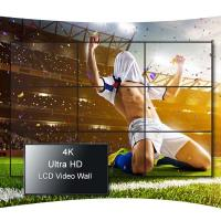 China 55 Inch Ultra Thin Bezel Video Wall , Wall Mounting LCD Video Display on sale