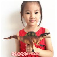 Quality Customized Dinosaur Model Toys L28*W7.5*H13 Plastic Jurassic Park Spinosaurus Toy for sale