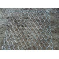 Quality Metal hexagonal wire mesh gabion cage gabion baskets used for Dam construction with water retaining for sale