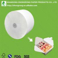 Buy cheap PE coated board for lunch food packaging box from wholesalers