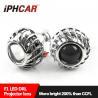 Buy cheap 12V 2.5 inch Aluminum Alloy led light guide angel eyes bi xenon proejctor lens from wholesalers
