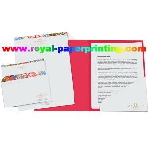 Quality A4 colorful paper file folder /presentation file folder printing for sale