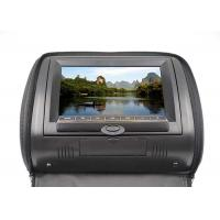 China Portable Car Headrest Screen Dvd Player , 9 Inch Lcd Car Monitors With Zipper Cover on sale