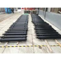 China Single Action Telescopic Hydraulic Cylinder Car Lifting Hard Chrome Plated on sale
