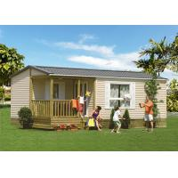 China Europe Style Prefab Light Steel Frame Mobile Homes In EU Standard on sale