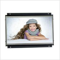 Quality Commercial 7 Inch High Resolution Open Frame LCD Monitor With Video Loop Play for sale