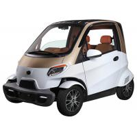 Quality Remote Central Local Small Electric Cars , 60V 4000W Motor White Electric Car for sale