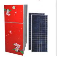 High Quality Solar Refrigerator 138L 24hrs Double-Door Fridge Fresh-Keeping and Freezing