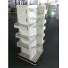 Buy cheap White Wire supermarket shelf light duty gondola shelf from wholesalers