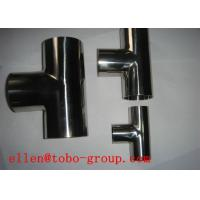 Quality TOBO STEEL Group ASTM A815 WPS31803 reducing tee for sale