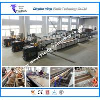 Buy cheap PE PVC WPC Garden Column Cover Profile WPC Panel Extrusion Machine from wholesalers