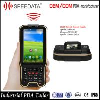 Quality Hand Android Nfc Card Rfid Reader Mobile Industrial With Barcode Scanner In A Unit for sale