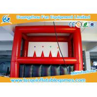 Buy cheap Safe PVC Inflatable Archery Game , Kids Archery Inflatable Shooting Target from wholesalers