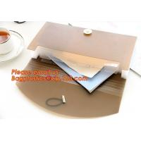 China new popular a4/letter size plastic pp poly Expandable Desk top file folder organizer on sale