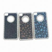 Quality Case for iPhone 4/4S, with Crystal Stone for sale