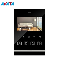 Quality Home Security 4.3 Inch Memory Interphone Video Intercom Doorbell for sale