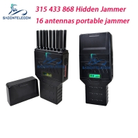 Quality 16 Antennas 12000mAh 2w Hidden Mobile Signal Jammer for sale