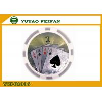 Quality Custom Build Casino Laser ABS Poker Chips Multi Colored For Indoor Games for sale