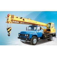 Quality QY8B.5 Truck Crane Hydraulic Mobile Crane With 3180 mm Overall Height for sale
