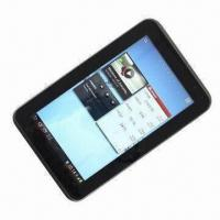 Quality 8-inch Touchscreen Tablet PC with Wi-Fi/Bluetooth/Android 2.3+3.2 Interface for sale