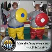 China Kids foam padded sumo suits on sale