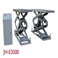 Quality Electronic Hydraulic Vehicle Scissor Lift With Control Box 3500KGS Capacity for sale