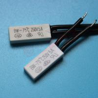 Buy Cheap Plastic case thermal switch,thermal protector, bimetal thermal switch w/ at wholesale prices