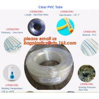 China PVC Transparent Hose Clear Suction no-kinking PVC tubing Soft Clear PVC Tube on sale