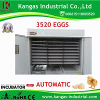 Quality Holding Competitive price high quality 3872 Eggs Easy Operation Egg Incubator with incubator parts KP-22 for sale
