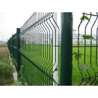 Buy cheap Metal Curved Panel 3D Garden 3.0mm Roll Top Fencing from wholesalers