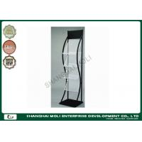 Quality Commercial 4 Tier Metal display racks and stands holder shelf for Magazine Newspaper for sale
