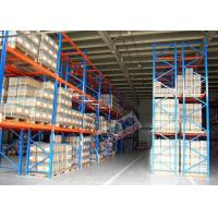 2500 Kg Max Load Pallet Rack Shelving Powder Coating For Third Party Distribution Centers